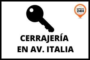 cerrajeria avenida italia